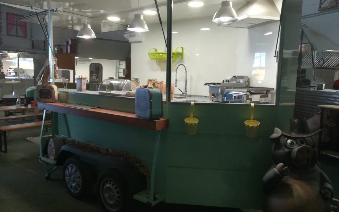 Conoce las nuevas instalaciones de cocina sobre ruedas