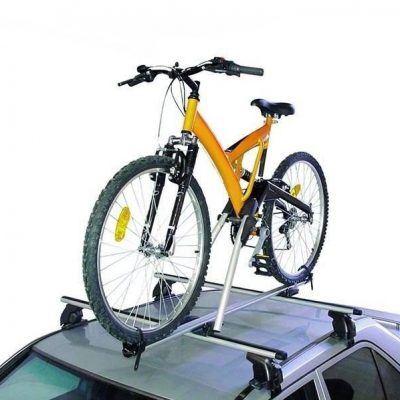 Porta bicis en baca