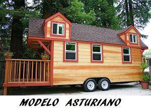 casas de madera móviles en Barcelona modelo asturiano