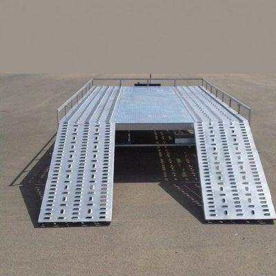 Remolque plataforma porta Quad