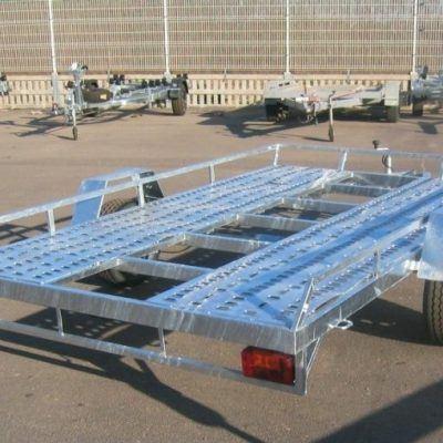 Plataforma porta coches 1 eje
