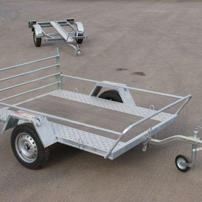 Remolque plataforma para quads y motos tipo custom
